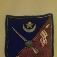 Militaria: ESCARAPELA PARCHE GRUPO NÓMADA SAHARA. Lote 151914776