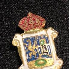 Militaria: INSIGNIA PIN MADRID CORONA ESMALTADO 20MM. Lote 152630782