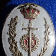 Militaria: PLACA ESMALTADA DE PECHO - FUNCIONARIO DE PRISIONES - 50 X 62 MM -. Lote 152862894