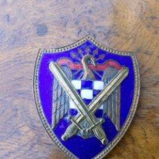 Militaria: INSIGNIA SEU, MILICIAS UNIVERSITARIAS, EXCELENTE ESTADO, ESMALTADA, 6 CM. Lote 153191314