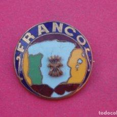Militaria: INSIGNIA NACIONAL FRANCO. ESCUDO FALANGE. GUERRA CIVIL.. Lote 153259418