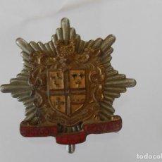 Militaria: DISTINTIVO METÁLICO DE BOMBEROS. CROYDON. LONDRES. INGLATERRA. CROYDON FIRE BRIGADE.. Lote 154310178