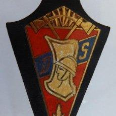 Militaria: DISTINTIVO METÁLICO DE BOMBEROS. D S. FRANCIA.. Lote 154333130