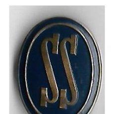 Militaria: INSIGNIA SS --SERVICIO SOCIAL FALANGE - AUXILIO SOCIAL - CAT. AZUL - FRANCO. Lote 155444998