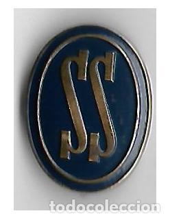 INSIGNIA SS --SERVICIO SOCIAL FALANGE - AUXILIO SOCIAL - CAT. AZUL - FRANCO (Militar - Insignias Militares Españolas y Pins)