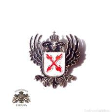 Militaria: INSIGNIA CARLISTA. GUERRA CIVIL 3,5 CM DE ALTO. Lote 155645166