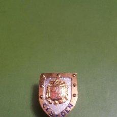 Militaria: ANTIGUA INSIGNIA CESEDEN ESCUDO FRANCO, CENTRO SUPERIOR DE ESTUDIOS PARA LA DEFENSA NACIÓN,. Lote 156570034
