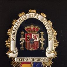 Militaria: PLACA JEFE DE SEGURIDAD. Lote 156616238