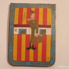 Militaria: COMPAÑIA DE AUTOMOVILISMO IV REGION MILITAR 1964 NOVIEMBRE VOLUNTARIOS. Lote 156741762