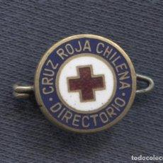 Militaria: INSIGNIA DE SOLAPA DE LA CRUZ ROJA CHILENA. DIRECTORIO.. Lote 156828954