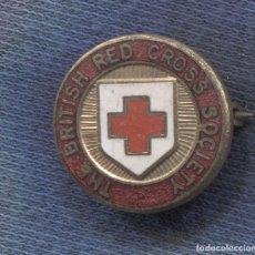 Militaria: INSIGNIA DE THE BRITISH RED CROSS SOCIETY.. Lote 156833030