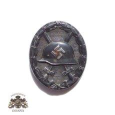 Militaria: DISTINTIVO DE HERIDO CATEGORÍA NEGRO MODELO 1939. Lote 156836322