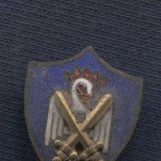 Militaria: INSIGNIA DE SOLAPA. MILICIAS UNIVERSITARIAS. EJÉRCITO DE TIERRA.. Lote 156836498
