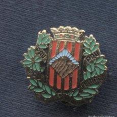 Militaria: INSIGNIA DE SOLAPA. SOMATÉN ARMADO DE CATALUNYA. ESMALTADA.. Lote 156836786
