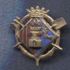 Militaria: INSIGNIA DE SOLAPA. CUERPO DE BOMBEROS. ESMALTADA.. Lote 156836954