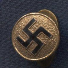 Militaria: INSIGNIA DE PROPAGANDA NACIONALSOCIALISTA. FABRICADA EN ESPAÑA ENTRE 1939 Y 1945. ESMALTADA. Lote 156960686