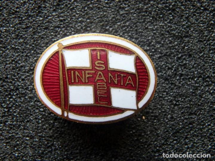 (JX-190391)INSIGNIA DE VAPOR INFANTA ISABEL , MARINA, REALIZADO POR WHITEHEAD , NEWARK N.J. (Militar - Insignias Militares Españolas y Pins)