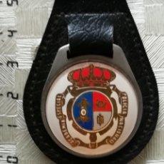 Militaria: LLAVERO METÁLICO Y CUERO DE LA ACADEMÍA ESPECIAL DE LA POLICÍA NACIONAL ESPAÑA. Lote 157962389