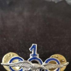 Militaria - Distintivo de horas de vuelo piloto civil, 1000 horas - 158238374