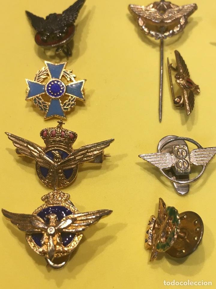 Militaria: Lote 19 Pin ojal de Aviacion Civil - Foto 4 - 158387838