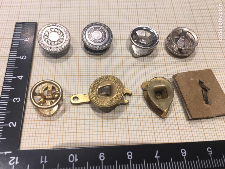 Militaria: Lote 8 pin ojal relacionado vehiculo - Foto 3 - 158390486