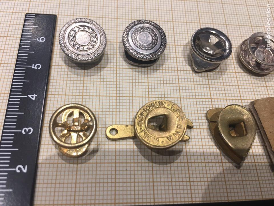 Militaria: Lote 8 pin ojal relacionado vehiculo - Foto 4 - 158390486