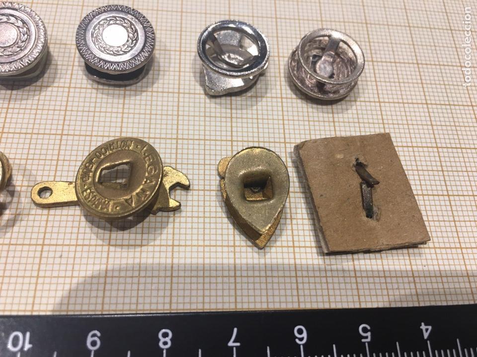 Militaria: Lote 8 pin ojal relacionado vehiculo - Foto 5 - 158390486