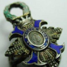 Militaria: ANTIGUA INSIGNIA O PIN DE OJAL, AL MERITO CIVIL. Lote 158992270