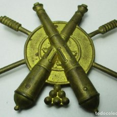 Militaria: ANTIGUA INSIGNIA ARTILLERÍA, EMBLEMA DE BRAZO DE SOLDADO ARTILLERO APUNTADOR, ÉPOCA ALFONSO XIII. Lote 158992702