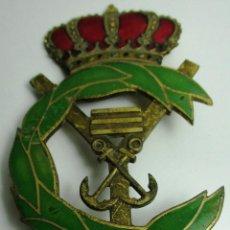 Militaria: ANTIGUA INSIGNIA, EMBLEMA, ESCUELA NAVAL MILITAR ??. Lote 158993194