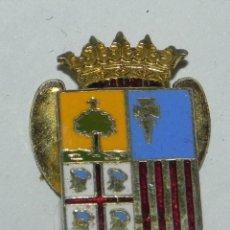 Militaria: INSIGNIA DE SOLAPA DE ARAGON, ESMALTADO, MIDE 2 CMS.. Lote 159609726