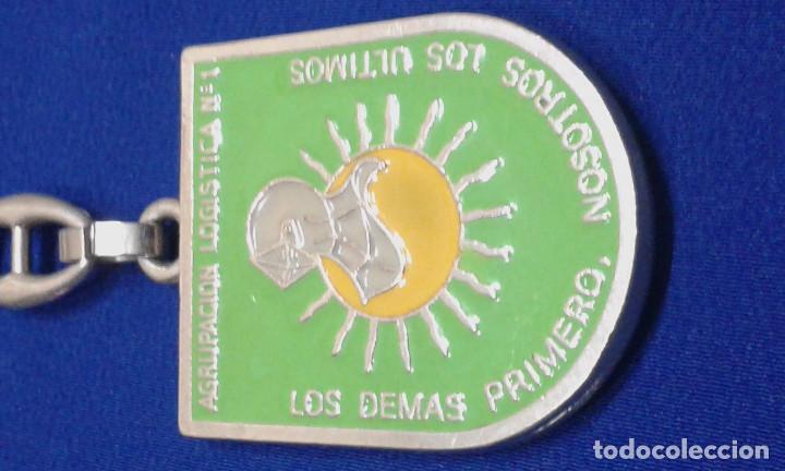 Militaria: LLAVERO AGRUPACION LOGISTICA Nº1 - Foto 2 - 160942770