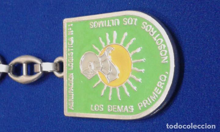 Militaria: LLAVERO AGRUPACION LOGISTICA Nº1 - Foto 5 - 160942770