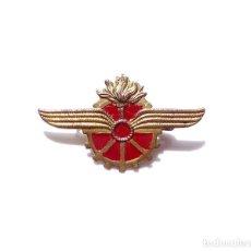 Militaria: INSIGNIA DISTINTIVO DEL CUERPO DE TRENES DE LA REPÚBLICA. 4,2 CM ANCHO. Lote 161779794