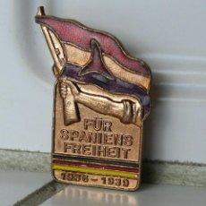 Militaria: PIN DDR ALEMAN BRIGADAS INTERNACIONALES 1936-1939 GUERRA CIVIL. Lote 161864926