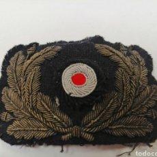 Militaria: COCARDA KRIEGSMARINE EN HILO DE ORO ORIGINAL ALEMAN WW2. Lote 161980602