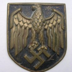 Militaria: PLACA SALACOT TROPICAL PARA KRIEGSMARINE COLOR DORADO ORIGINAL ALEMAN WW2. Lote 161980814