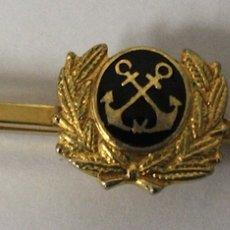 Militaria: ALFILER DE CORBATA MARINA. Lote 162016825