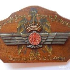 Militaria: TROPAS DE AVIACIÓN. PRINCIPIOS AÑOS 40. ÉPOCA FRANCO. PALMA MALLORCA. ZARAGOZA. Lote 162430110