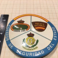 Militaria: DISTINTIVO PIN CUERPO DE SEGURIDAD DEL ESTADO AÑOS 80. Lote 162507369