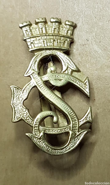 INSIGNIA CUERPO SEGURIDAD DORADA REPUBLICA GUERRA CIVIL (Militar - Insignias Militares Españolas y Pins)