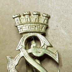 Militaria: INSIGNIA CUERPO SEGURIDAD DORADA REPUBLICA GUERRA CIVIL. Lote 162806865