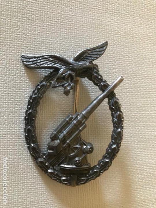 INSIGNIA ANTIAEREA DE LA LUFTWAFFE FLAKKAMPFABZEICHEN DER LUFTWAFFE TERCER REICH HITLER NAZI (Militar - Insignias Militares Extranjeras y Pins)