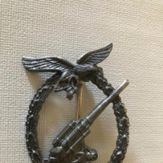 Militaria: INSIGNIA ANTIAEREA DE LA LUFTWAFFE FLAKKAMPFABZEICHEN DER LUFTWAFFE TERCER REICH HITLER NAZI. Lote 163497298