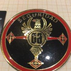 Militaria: PLACA SEGURIDAD PRIVADA GA. Lote 163733556