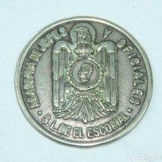 Militaria: POLICIA ARMADA, POLICIA NACIONAL, CHAPA DE LA ACADEMIA DE JEFES Y OFICIALES, SAN LORENZO DEL ESCORIA. Lote 163875490