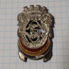 Militaria: INSIGNIA DE CUELLO DE CUERPOS DE SEGURIDAD, REPÚBLICA. Lote 1793537