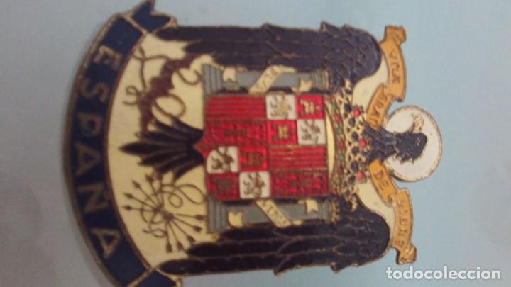 Militaria: insignia española franquista con esmaltes - Foto 3 - 164570146