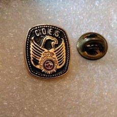 Militaria: PINS POLICÍA NACIONAL GRUPO OPERACIONES ESPECIALES. Lote 164679590