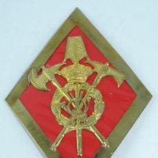 Militaria: ROMBO DE GASTADOR, INFANTERIA, GRAN TAMAÑO MIDE 11 X 15,8 CMS.. Lote 165427494